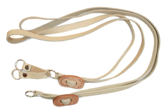 Gfeller leather lanyards