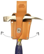 Swing hammer holster