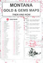 Montana Gold and Gems Maps