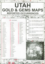 Utah Gold Maps and Gems Maps