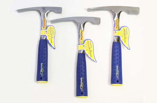 chisel-tip rock hammers