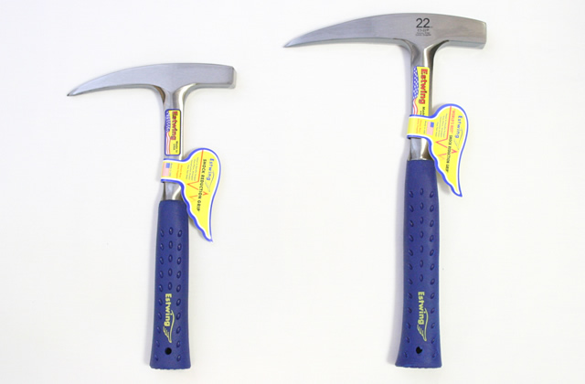 pointed-tip rock hammers