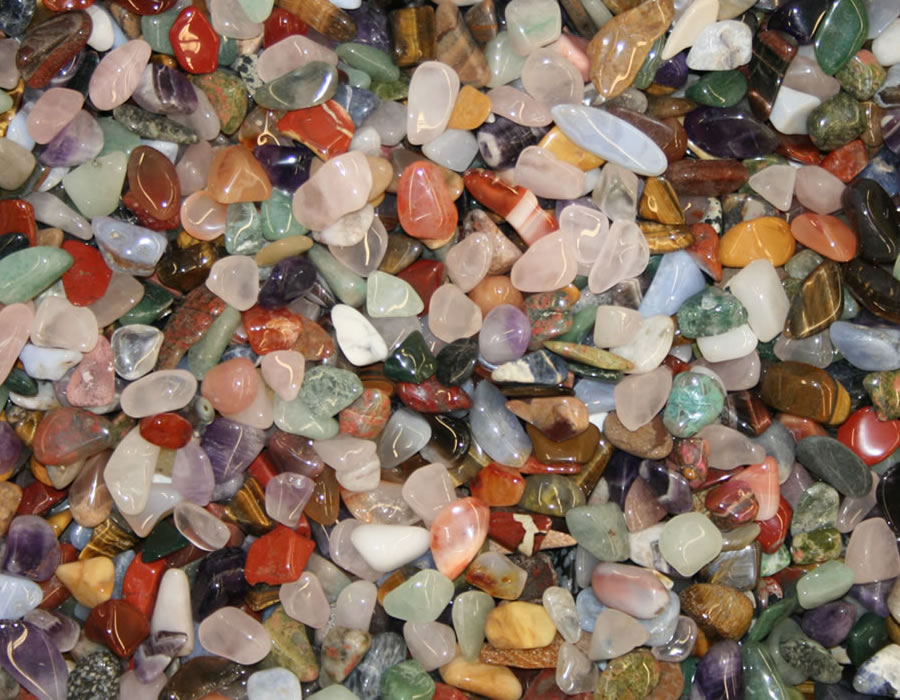 Colorful Natural Stones