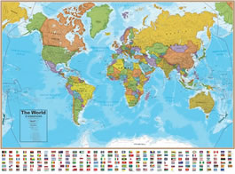 World Wall Map