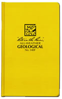 Geological field book