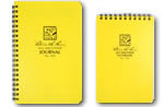 Waterproof note books