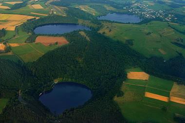 maars near Duan, Germany