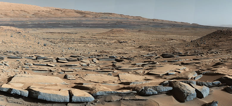 Mudstones reveal an ancient lake bed on Mars