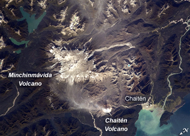 Chaiten Volcano Chile Map Facts Eruption Pictures