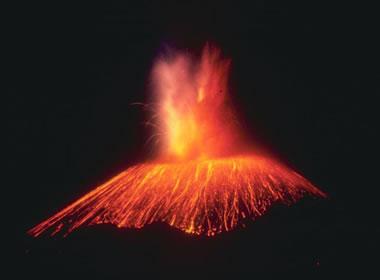 Cinder Cone Eruption