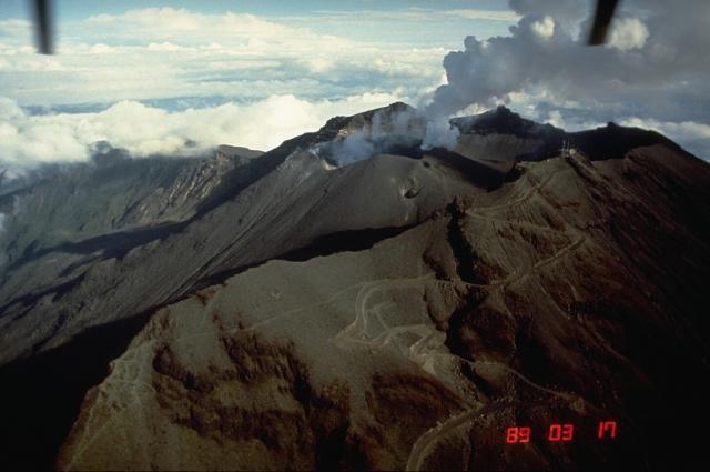 Galeras Volcano Colombia