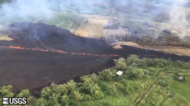 Kilauea Fissure 17