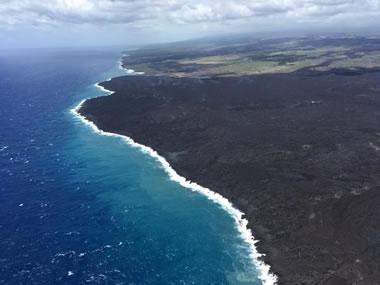 New Lava Delta