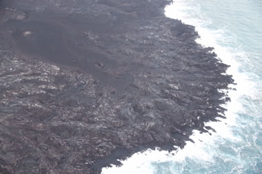 Unstable Lava Deltas