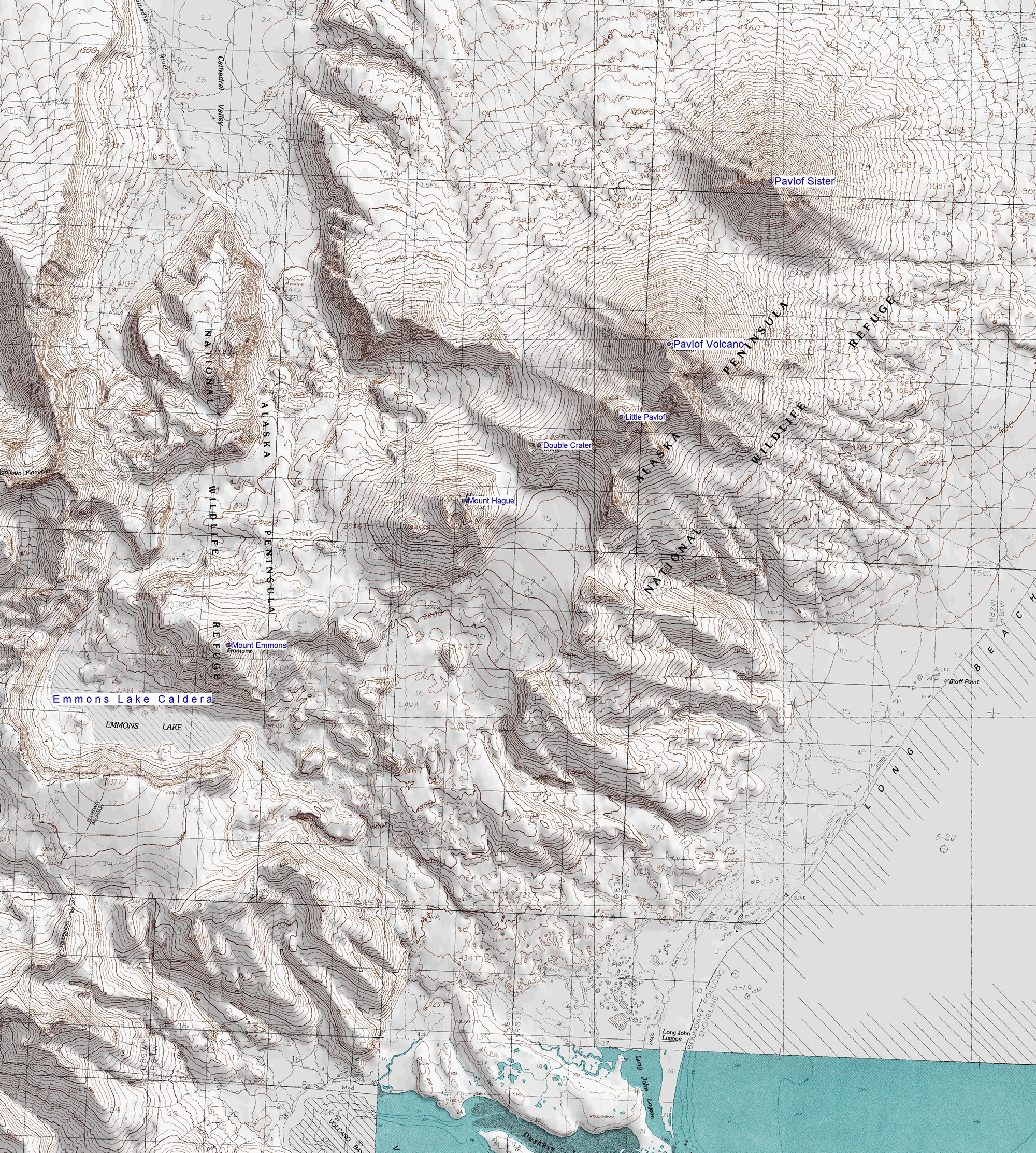 Pavlof Volcano One Of The Most Active Volcanoes In North America - Volcanoes in usa map