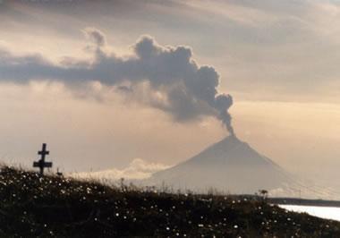 Pavlof Volcano - 1996 eruption