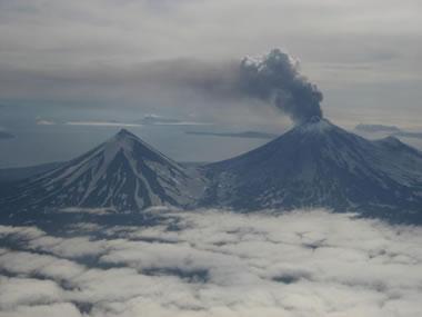 Pavlof Volcano - 2007 eruption