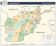 Afghanistan Province Map