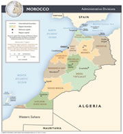Morocco Region Map
