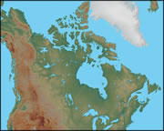 Show Me The Map Of Canada.Canada Map And Satellite Image
