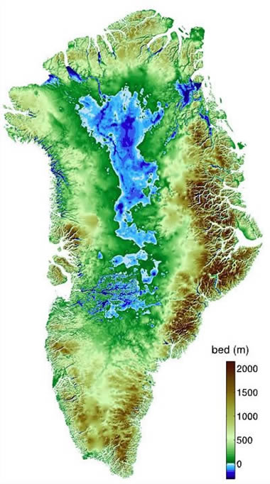 Greenland Maps - Greenland map