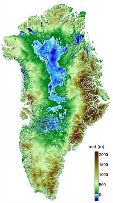 Greenland Maps - Greenland map
