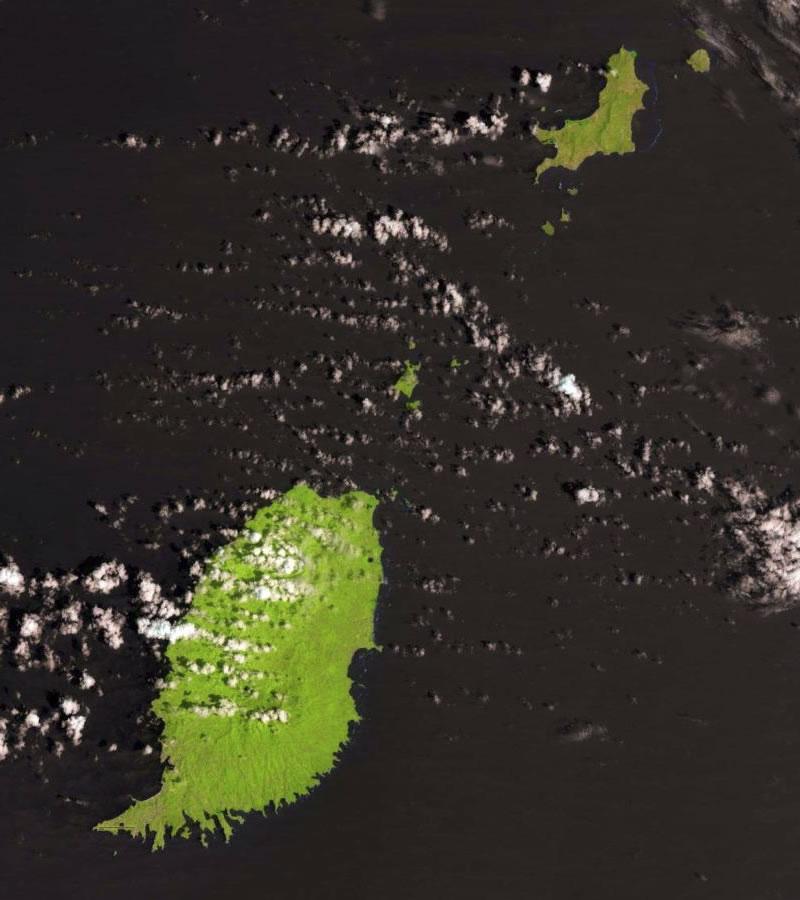 Grenada satellite photo