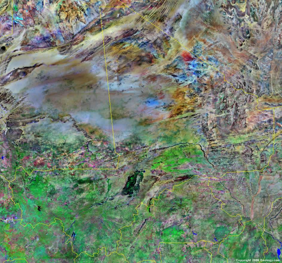 Mali satellite photo Mali Map and Satellite