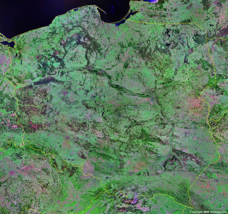 Poland Map and Satellite Image on satellite map of saipan, satellite map of mali, satellite map of vatican city, satellite map of brunei darussalam, satellite map of prague, satellite map of abu dhabi, satellite map of the gambia, satellite map of montserrat, satellite map of caribbean islands, satellite map of the vatican, satellite map of mauritania, satellite map of iraq, satellite map of united states of america, satellite map of tunisia, satellite map of kosovo, satellite map of western europe, satellite map of qatar, satellite map of uzbekistan, satellite map of trinidad and tobago, satellite map of somalia,