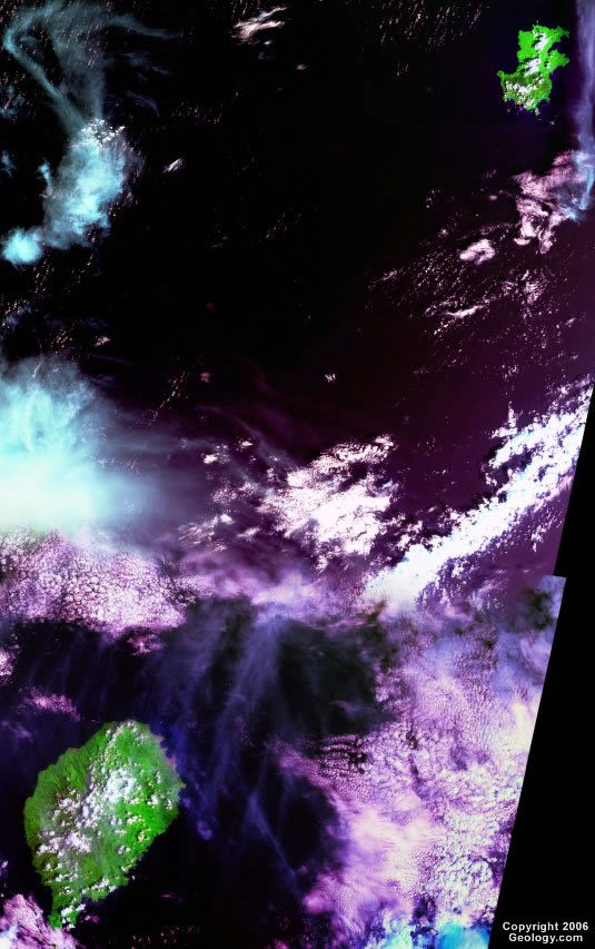 Sao Tome and Principe satellite photo